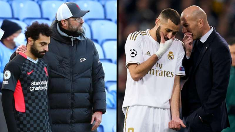 ONLY GERMANY Salah Klopp Liverpool Zidane Benzema Real Madrid 19122020/26022020