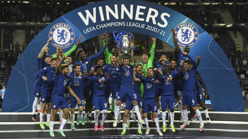 ONLY GER UEFA Champions League Sieger 2021 FC Chelsea Siegerehrung 29052021