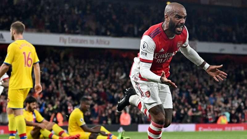Alexandre Lacazette, Arsenal vs Crystal Palace, 18 octubre 2021, Premier League 2021/2022