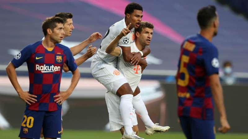 Barcelona vs. Bayern Munich results: Catalans dismantled in historic  fashion, 8-2 | DAZN News Canada