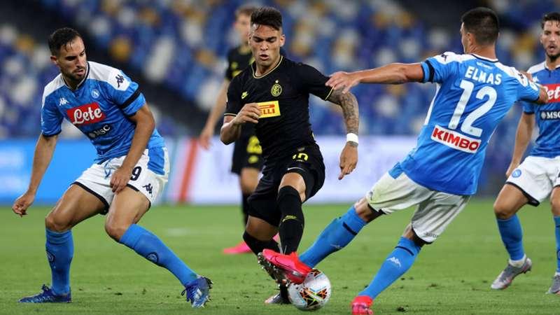 SSC Neapel Inter Mailand Saison 2019/20