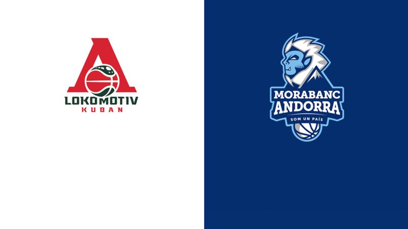 Lokomotiv Kuban MoraBanc Andorra Eurocup 2021/22