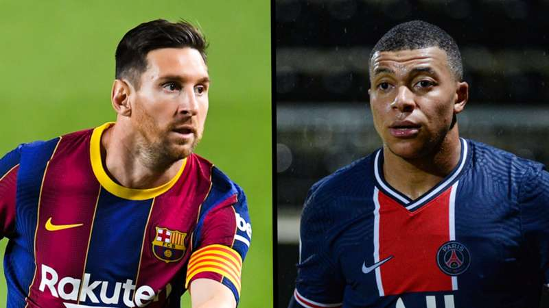 ONLY GERMANY Messi Mbappe Blick 04102020/16012021