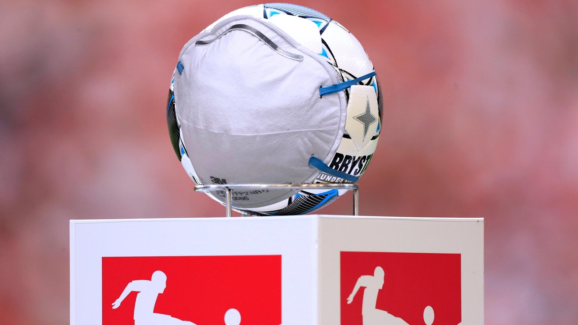 Bundesliga Ball Corona Coronavirus