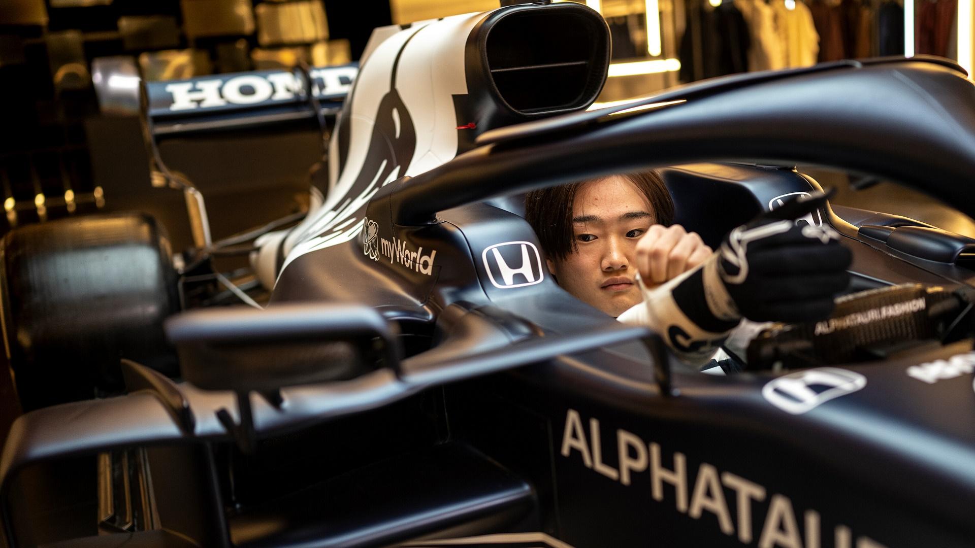 2021-02-19 Yuki Tsunoda Alphatauri Formula 1 F1