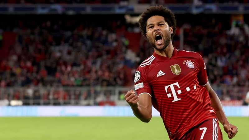 Serge Gnarby FC Bayern München