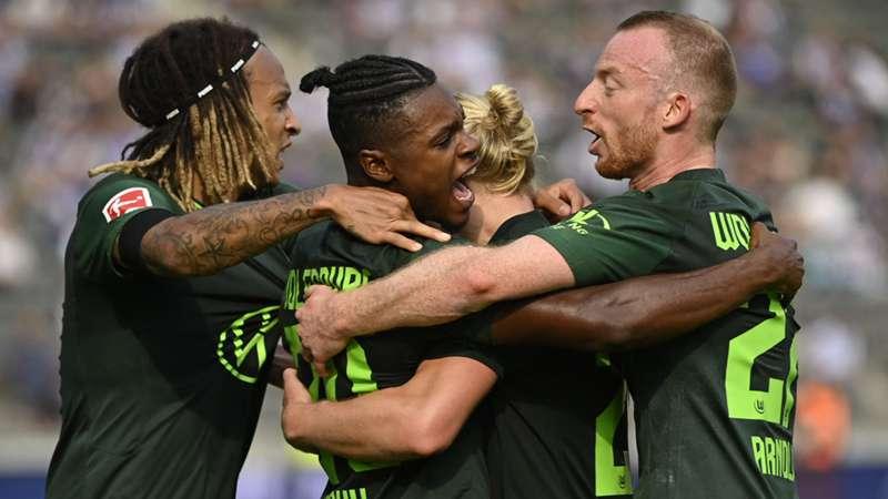 VfL Wolfsburg 2022 Jubel