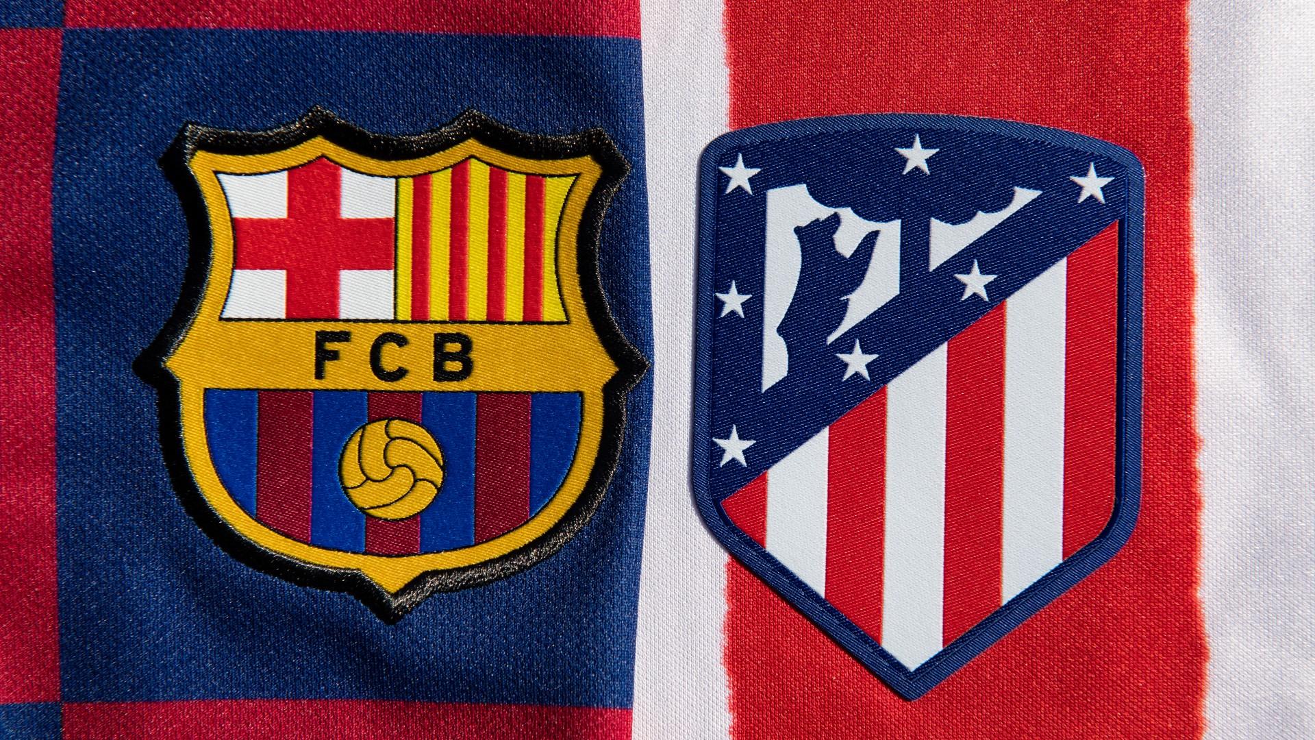 Atletico Madrid FC Barcelona Wappen
