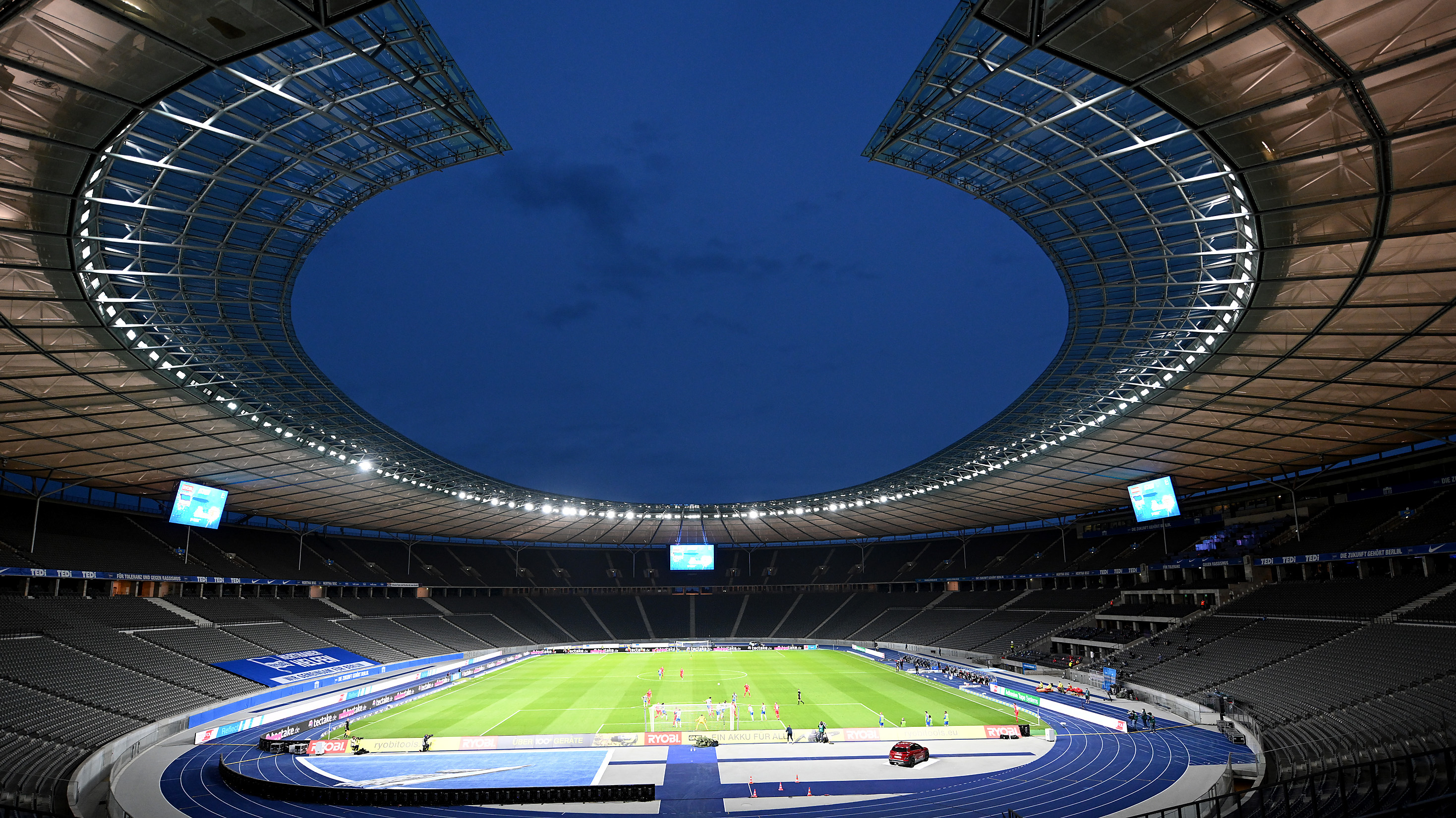 ONLY GERMANY Olympiastadion Berlin overview 22052020
