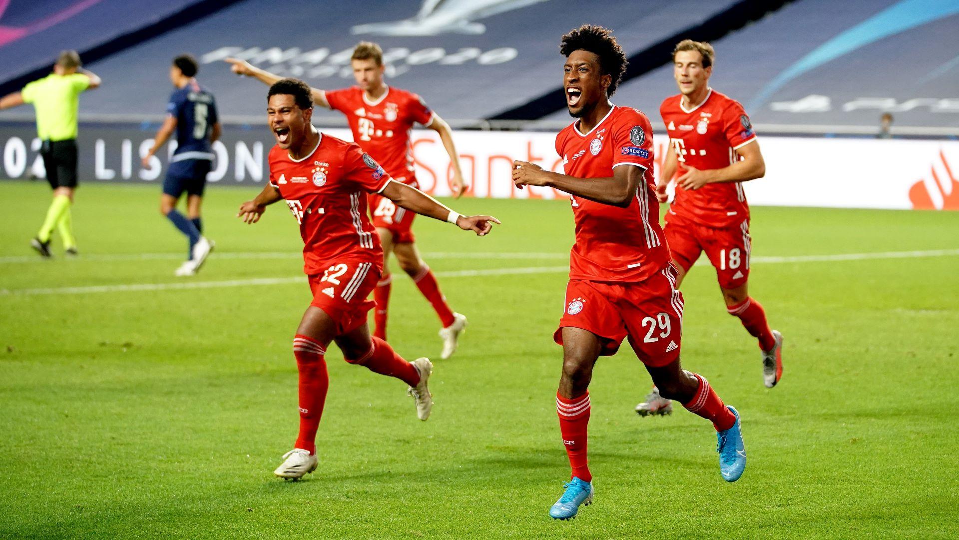 Bayern München PSG Coman Gnabry Champions League Livestream