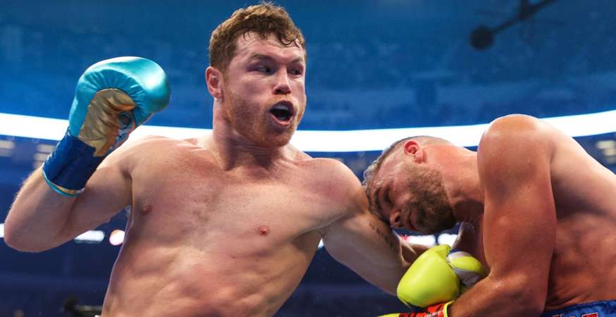 Canelo Álvarez vs. Billy Joe Saunders