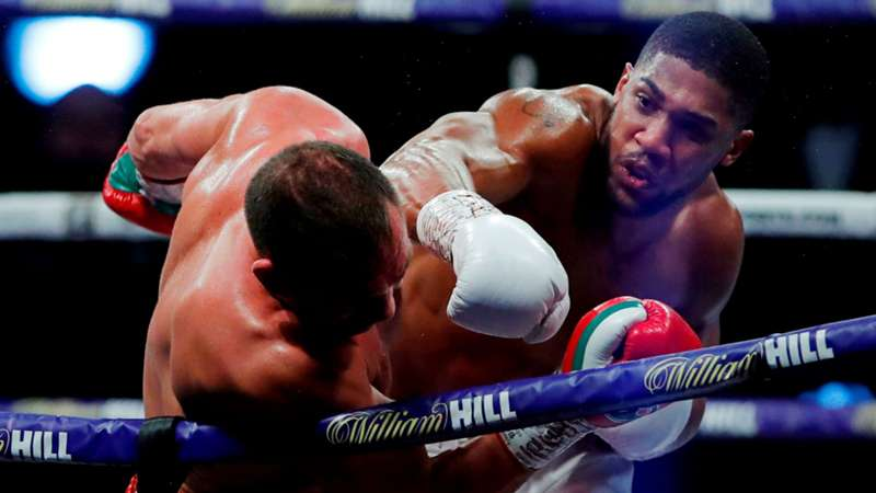 Boxen Anthony Joshua Pulev letzte Kämpfe Bilanz