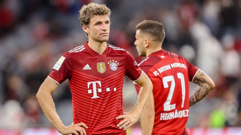Müller Hernandez FC Bayern München 3.10.2021