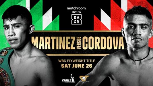 Julio Cesar Martinez vs. Joel Cordova: Date, fight time, TV channel and live stream | DAZN News US