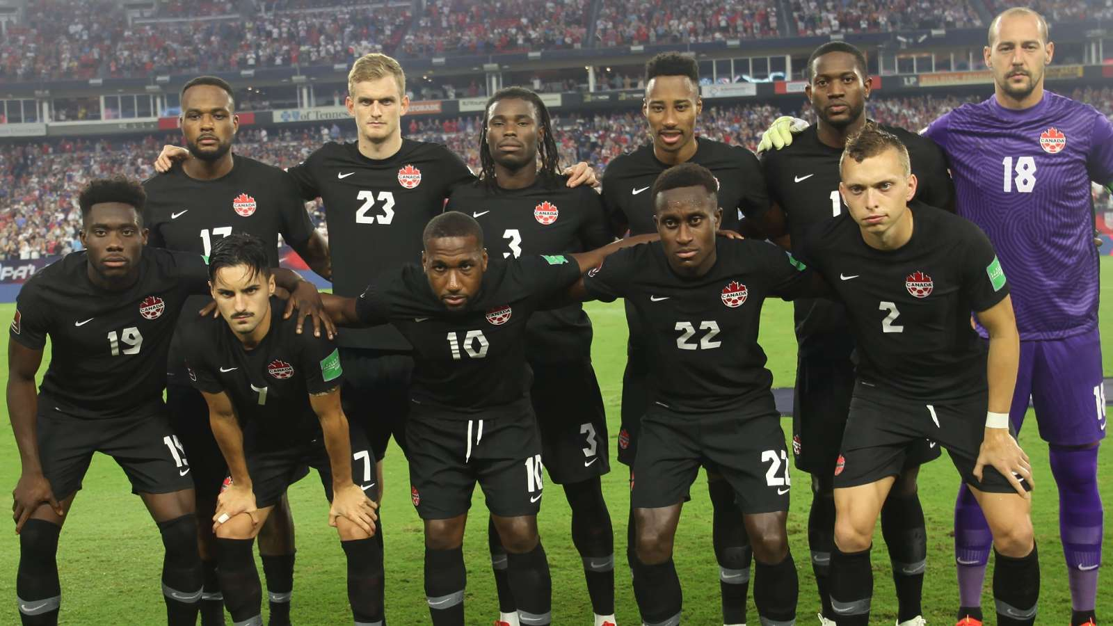 Canada names 27-man squad for October World Cup qualifiers ...