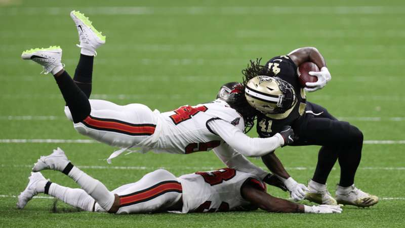 Alvin Kamara_New Orleans Saints_NFL_13092020_Getty Images_Chris Graythen
