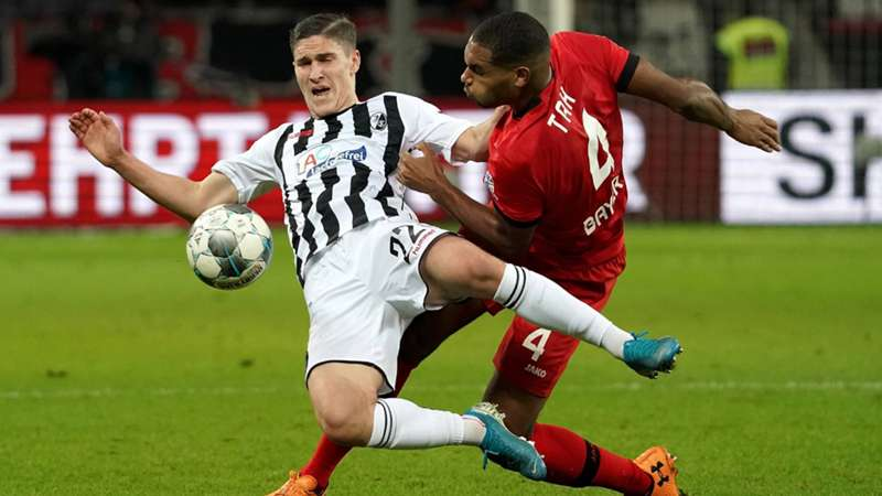 SC Freiburg Bayer Leverkusen Hinspiel Saison 20192020