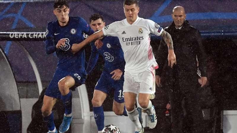 Kai Havertz FC Chelsea Toni Kroos Real Madrid 27042021