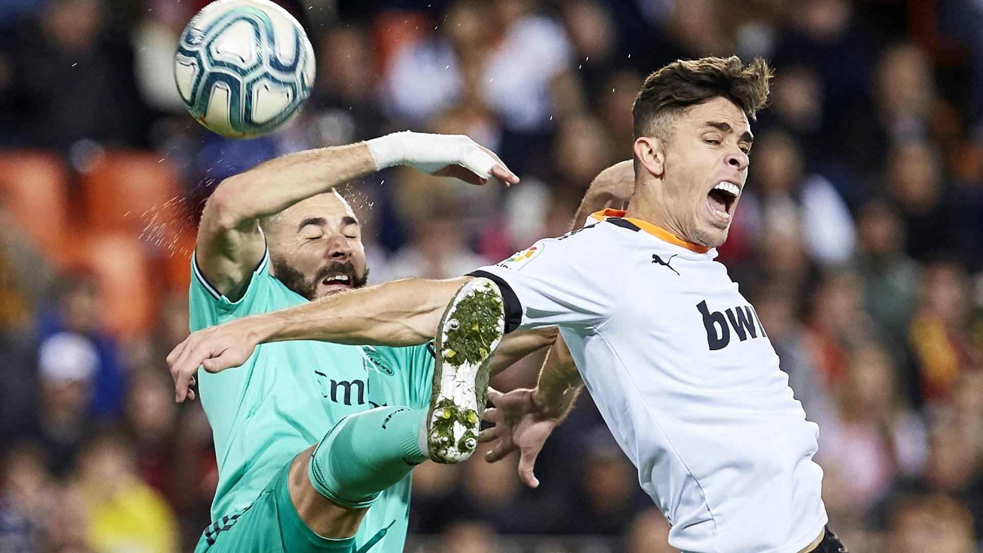Valencia Gegen Real Madrid