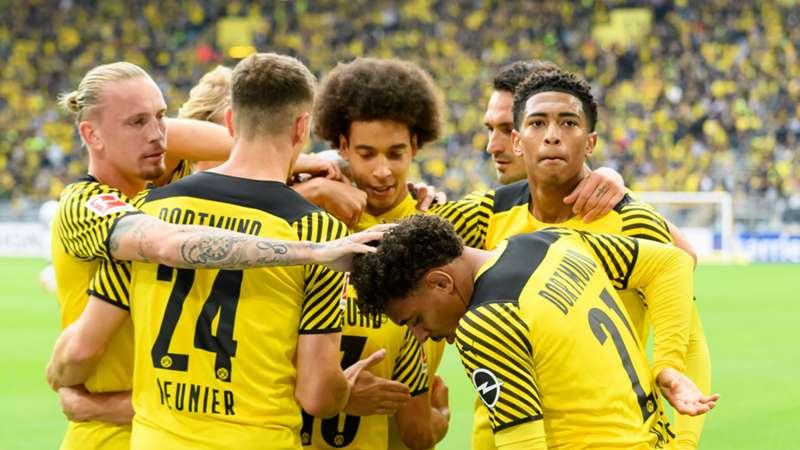 BVB Borussia Dortmund Meunier Witsel Bellingham