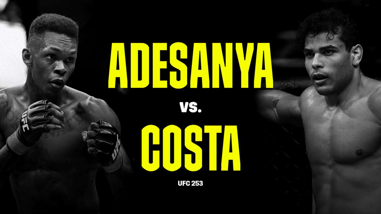 What Channel Is Ufc 253 Time Tv Schedule Live Stream For Israel Adesanya Vs Paulo Costa Dazn News Cambodia