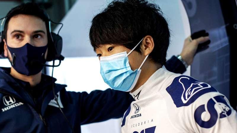 2021-04-07 Tsunoda Yuki Alphatauri Formula 1 F1
