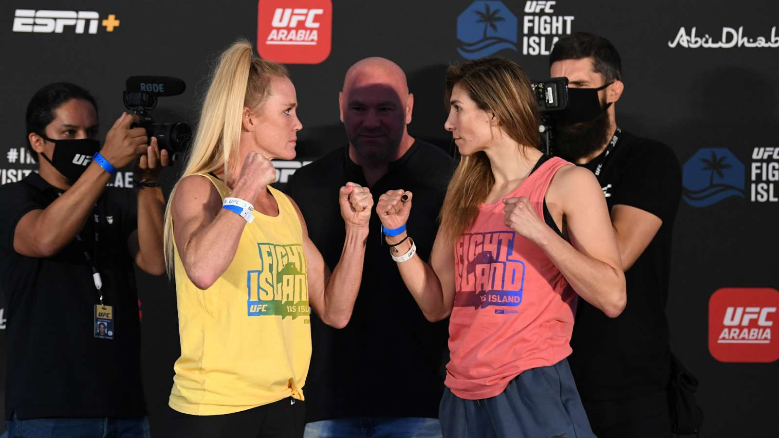 UFC on ESPN Holm vs Aldana Live Fight