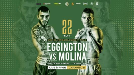 Sam Eggington vs. Carlos Molina: Date, fight time, TV channel and live stream   DAZN News US