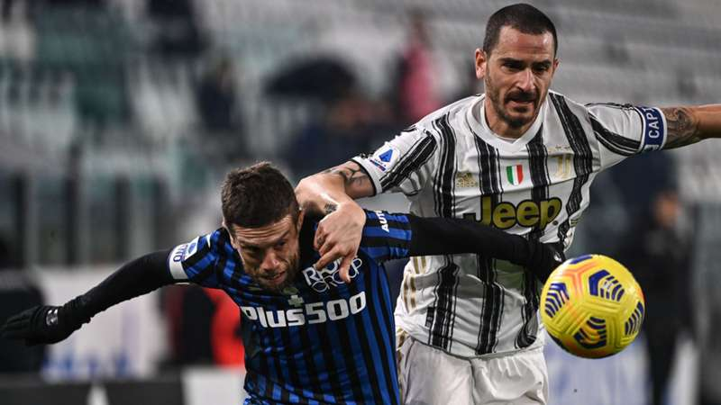Atalanta Bergamo Gomez Juventus Turin Bonucci Serie A heute live