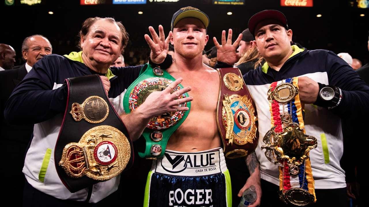 Canelo Alvarez record: Career fight results, stats, titles, highlights    DAZN News US