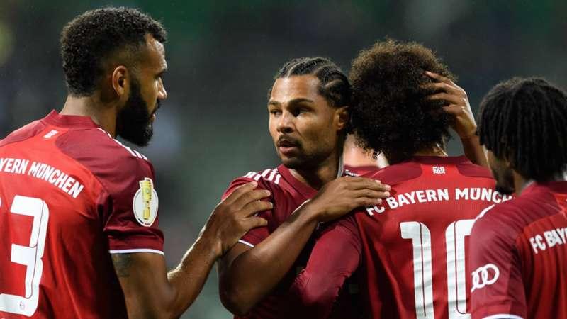 FC Bayern Jubel Pokal Bremer SV