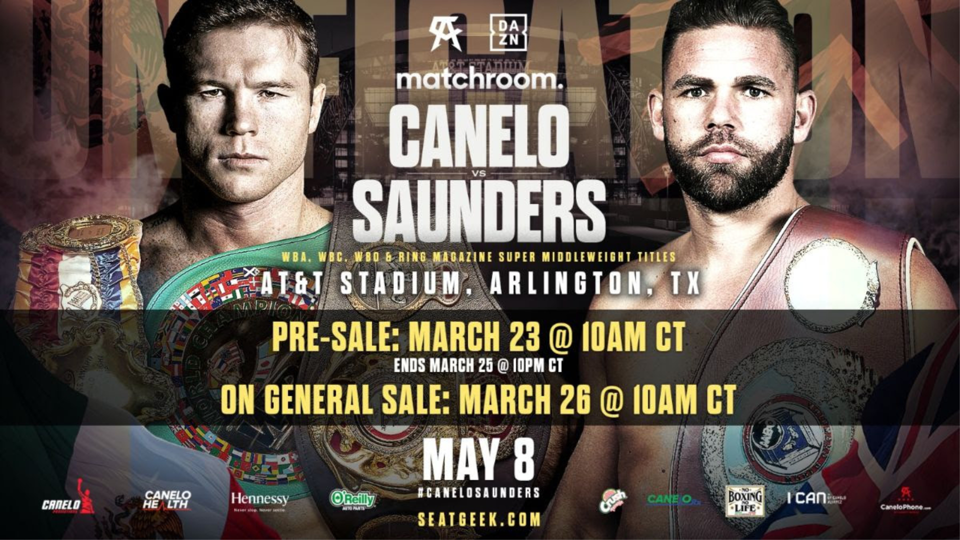 Canelo vs Saunders tonight Fight Live, Online TV Guide, Start Time, Reddit Stream, How to Live in iphone, Stream Online PPV, TV Channel