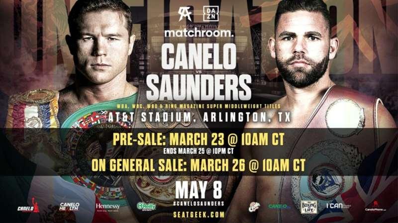 Canelo Alvarez vs Billy Joe Saunders Boxing Streams Live Reddit