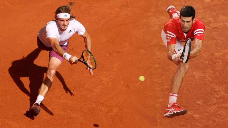 ONLY GERMANY Tsitipas Djokovic French Open Roland Garros Finale 07062021