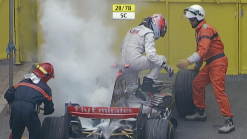 Kimi Raikkonen GP Monaco 2006 F1