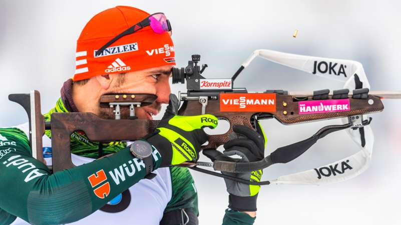 ONLY GERMANY Arnd Peiffer Shooting 11012019