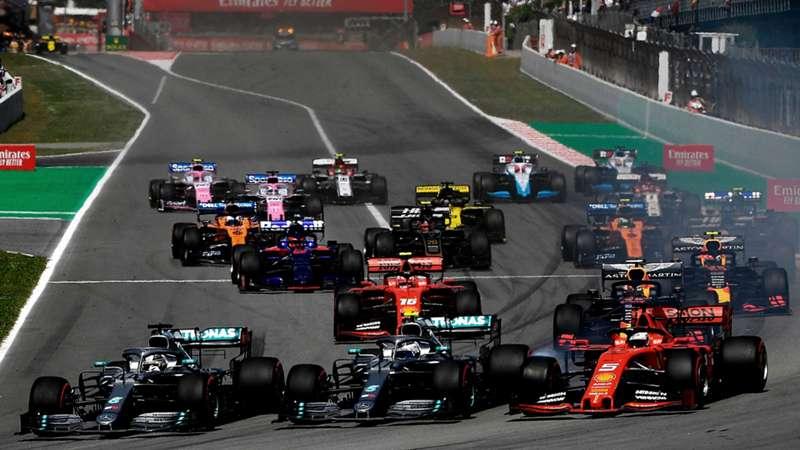 2020-07-25 F1 Formula 1 Spain 2019