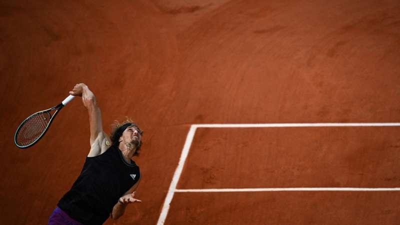Alexander Zverev French Open 06062021