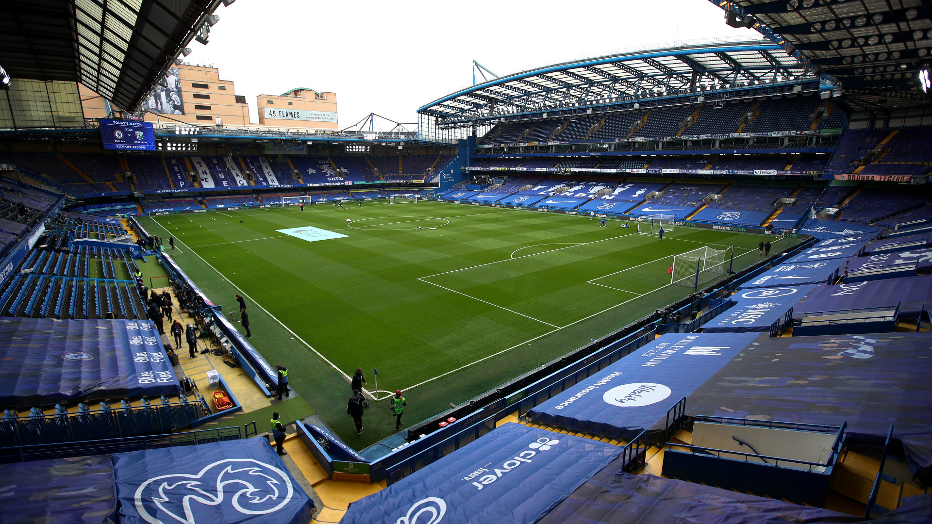 ONLY GERMANY Stamford Bridge Chelsea London 03042021