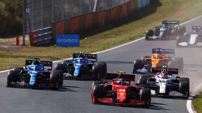 Fernando Alonso, Esteban Ocon, Antonio Giovinazzi, Carlos Sainz, Daniel Ricciardo, GP Países Bajos, Netherlands, Zandvoort, F1 2021, 5 septiembre