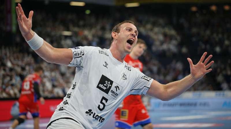 ONLY GER Handball Bundesliga THW Kiel vs HBW Balingen-Weilstetten Sander Sagosen 08092021