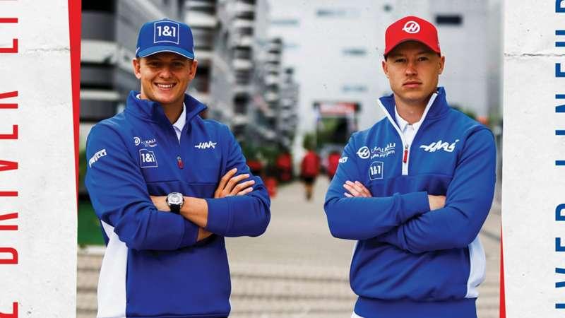 Haas Nikita Mazepin Mick Schumacher Formula 1