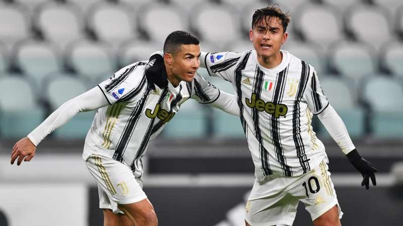 Cristiano Ronaldo and Dybala_Juventus Turin_Serie A_03012021_Getty Images_Valerio Pennicino