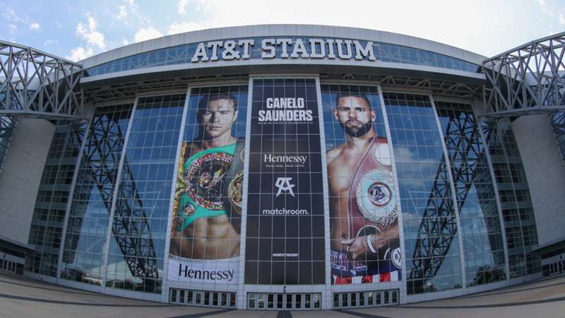 AT&T Stadium Canelo vs. Saunders