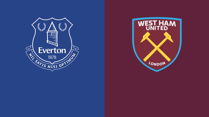 Everton West Ham Premier League 2021/22