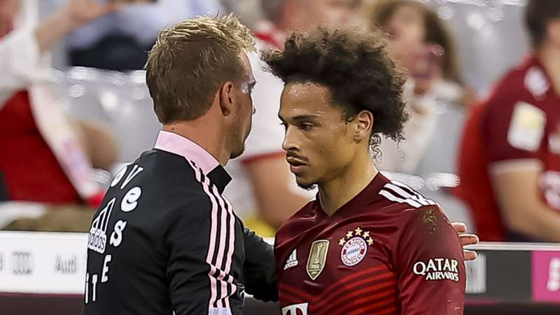 Nagelsmann Sane FC Bayern 21102021