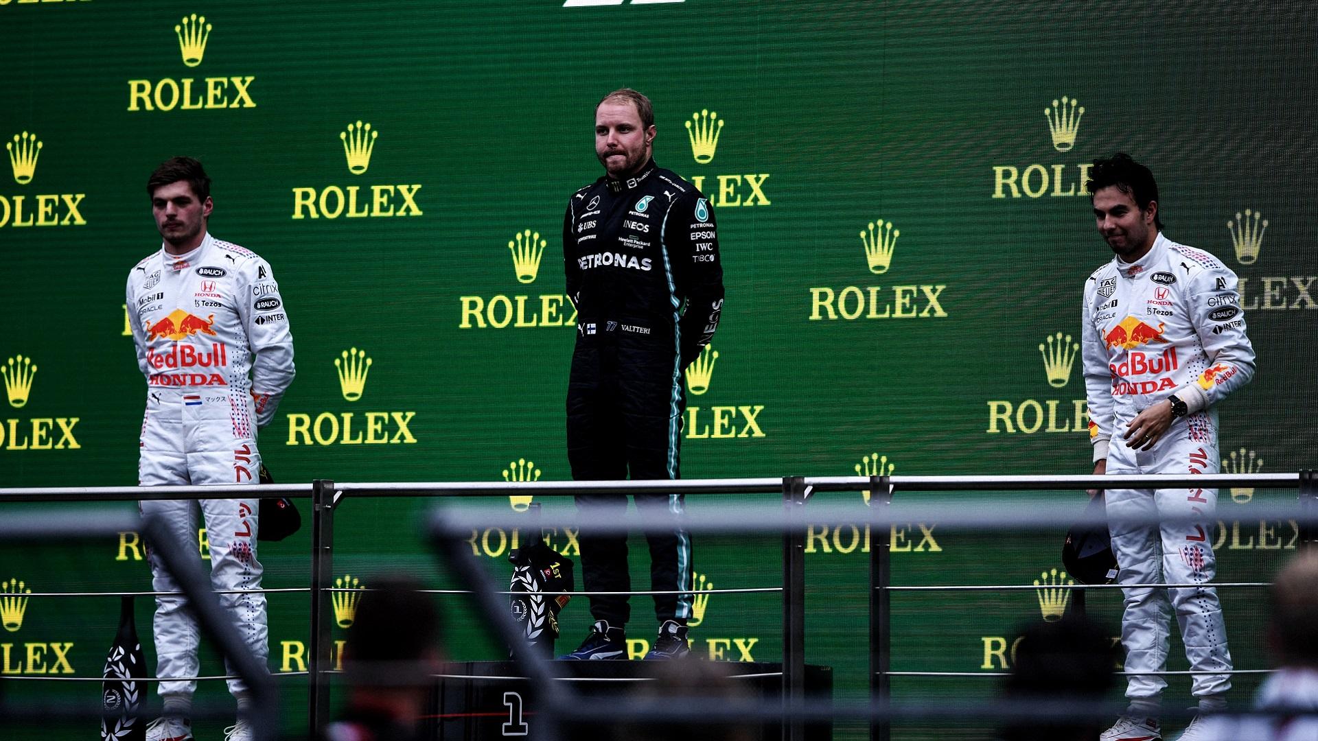 2021-10-10 Bottas Verstappen Perez F1 Formula 1