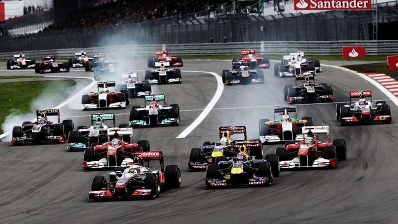 2020-08-23 2011 Formula 1 F1 Nurburgring