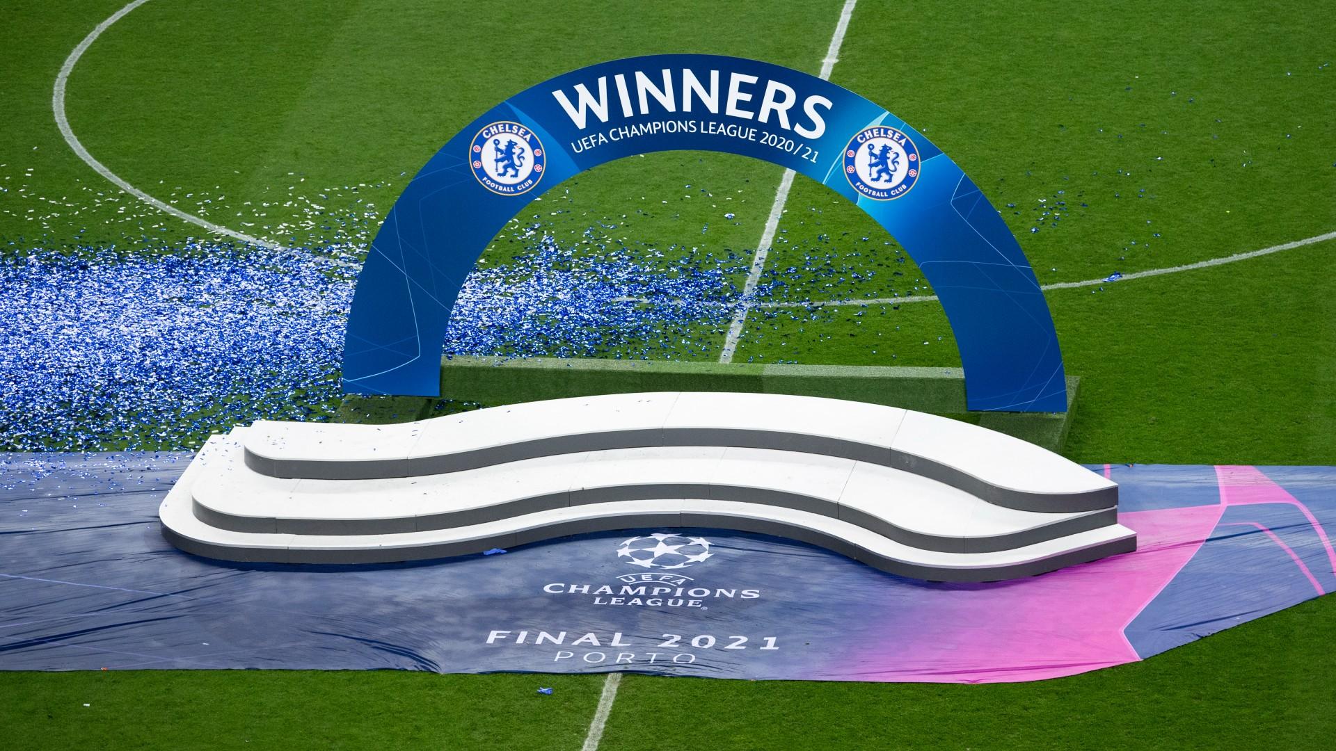 Champions League Finale Porto Zeremonie 29052021