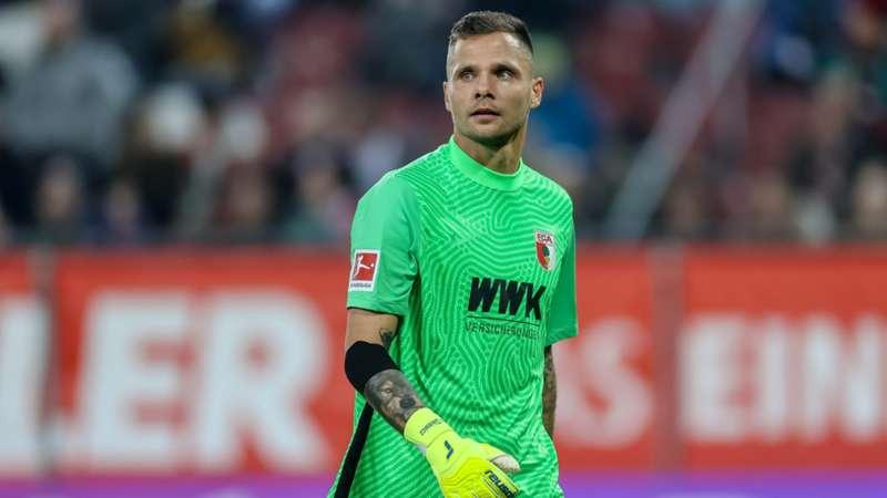 FC Augsburg Gikiewicz 17102021